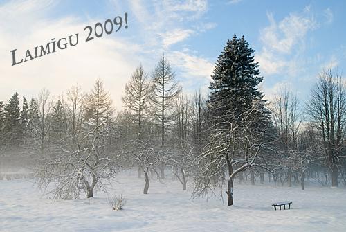 Laimīgu 2009!